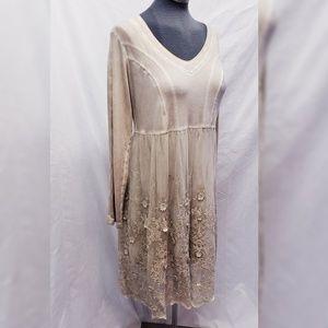 Boutique Large Embellished Gretty Zueger Dress